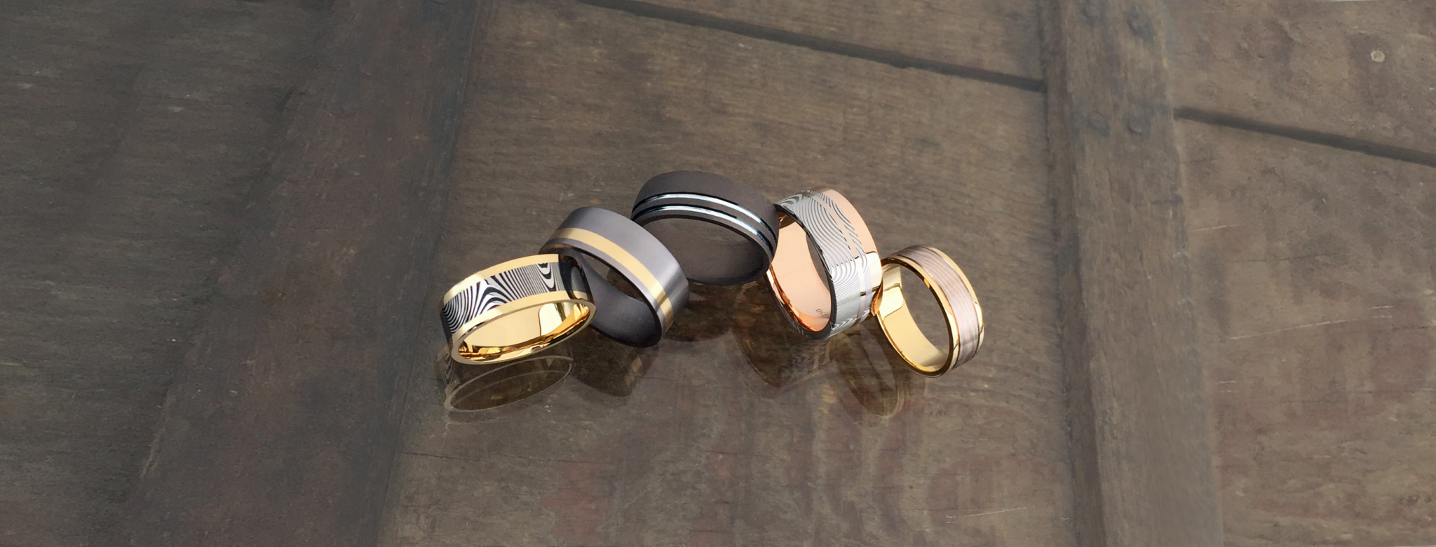 David Parums Design ring collection